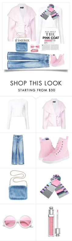 """""""Pretty in Pink"""" by terry-tlc ❤ liked on Polyvore featuring Proenza Schouler, Balmain, Tortoise, Dr. Martens, Kershaw, Quinton-Chadwick, ZeroUV, Christian Dior and Sif Jakobs Jewellery"""