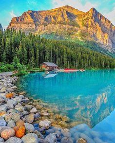 ❝ #FOTO - El espectacular Lago Louise, en Canadá ❞ ↪ Vía: Entretenimiento y Noticias de Tecnología en proZesa
