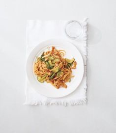 <p>Chicken and Cucumber Stir-Fry With Noodles and Crispy Garlic</p>