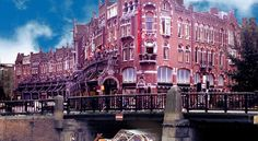 """See 58 photos from 291 visitors about jordaan, great value, and quiet. """"Located in the Jordaan area across from Westerkirk and a short walk from the. Amsterdam City, Amsterdam Travel, Amsterdam Netherlands, Red Light District, Holland, Europe, Hotels, Bike, The Nederlands"""