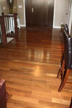 Brazilian Chestnut – featured in HGTV® Dream Home 2010 & 2012 – looks beautiful in this customer home!