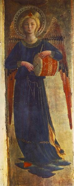TICMUSart: Linaioli Tabernacle - Fra Angelico (1433) (Detalle) (I.M.)