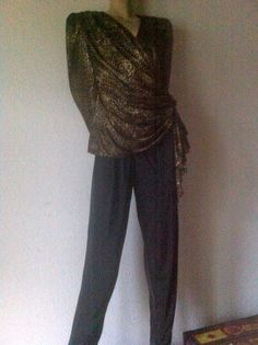 ausgefallener vintage Jumpsuit 40/42 US 10/12 von SimplyOdd2014