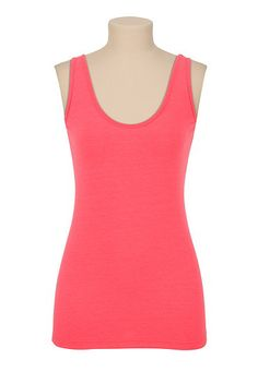 maurices offers a wide selection of women's clothing in sizes including jeans, tops, and dresses. Inspired by the girl in everyone, in every size. Summer Looks, Basic Tank Top, Scoop Neck, Cute Outfits, Coral, Spring Summer, Cockatoo, Fashion Outfits, Clothes For Women