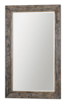Distressed Slate Blue Wood Mirror  Click here to purchase: http://www.houzz.com/photos/17634553/Distressed-Slate-Blue-Wood-Mirror-traditional-mirrors