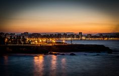 Atardece en Gijón desde El Rinconín Harvest, Celestial, Sunset, Outdoor, Outdoors, Sunsets, Outdoor Games, The Great Outdoors, The Sunset