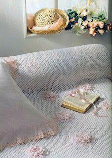 CROCHE DA ANJINHA: Lindas colchas em croche!!
