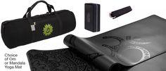 Anahata Hold All Kit | Onyx Yoga Mat | Born Peaceful Hold All | Strap | Brick