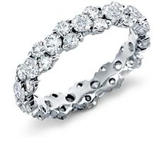 Unusual twist on a lovely classic LOVE   Garland Diamond Band