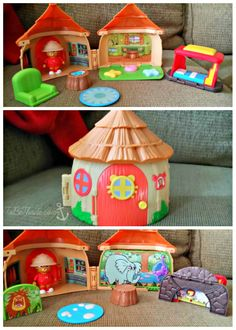 Mom blogger @ToBeThode is having fun with the Daniel Tiger's Neighborhood toys!