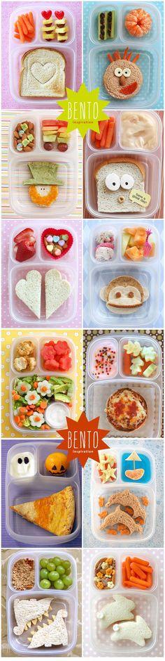bento inspiratie voor een leuke en gezonde lunch voor kinderen - bento boxes - Japanese bento lunches for kids