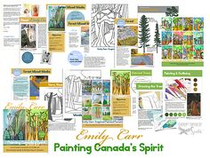 Canadian History Projects Emily Carr Ideas For 2019 History Icon, Nasa History, Art Lessons For Kids, Artists For Kids, Emily Carr Paintings, History Projects, Art Projects, Project Ideas, African American History Month