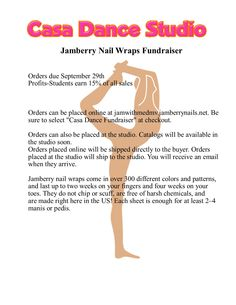 Check out our Jamberry Fundraiser!