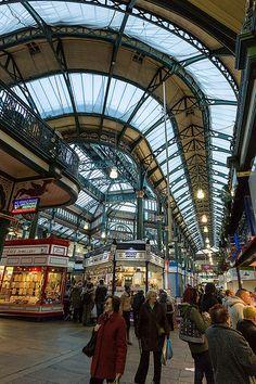 Leeds Market, West Yorkshire, UK