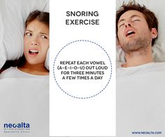Sleep peacefully and reduce the noise for others to do the same by trying this easy snoring exercise. ‪#‎snoring‬ ‪#‎loud‬ ‪#‎snoringexercise‬