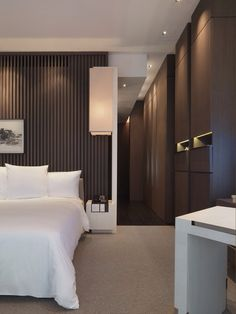 Park Hyatt Shanghai Hotel Elegant Floor To Ceiling Built In Closets Wonderful Contrast Very