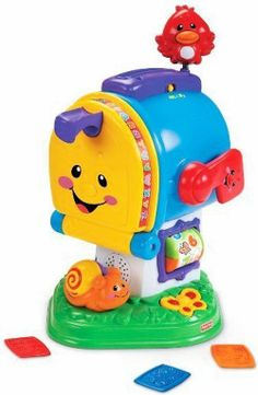 FISHER-PRICE LAUGH & LEARN LEARNING LETTERS MAILBOX CHILD DEVELOPMENT TOY NEW