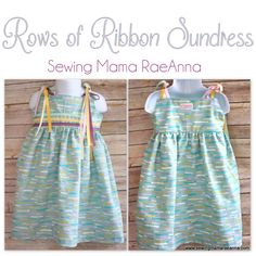 Sewing Mama RaeAnna: 30 Days of Sundresses - Rows of Ribbons - FREE 18-24m Pattern
