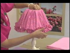 Sonia Franco. Programa Nuestra Casa. Elaboración de Drapeado y Flores 3/5 - YouTube