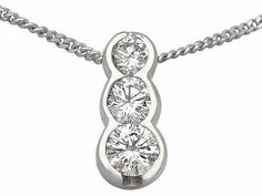 333 ct diamond and platinum necklace antique circa 1920 diamond 333 ct diamond and platinum necklace antique circa 1920 diamond pendants and diamond pendant aloadofball Choice Image