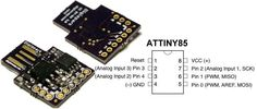 Digispark is an ATtiny85 based microcontroller development board come with USB interface. Coding is similar to Arduino, and it use the familiar Arduino IDE f...