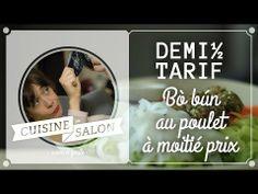 Demi-tarif - Bò bún poulet et restes du frigo | Cuisine de Salon