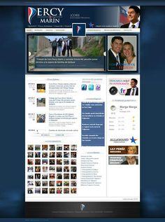 www.percymarin.cl - Otro #diseñoweb de www.ciberweb.cl