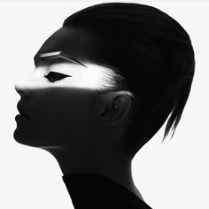 #let #there #be #light  #happy #friday #tgif #friyay #weekend #fashion #style #art #blackandwhite #photo #rankin #makeup #andrewgallimore #hair #bradylea