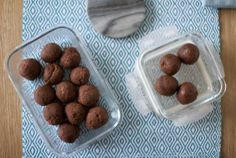 Chocolate Fudge Protein Balls