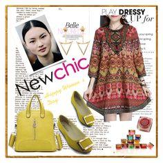 """NEWCHIC WOMEN 13"" by mamiigou ❤ liked on Polyvore"
