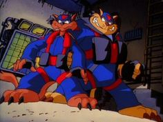 SWAT Kats. F Ted Turner for canceling this show.
