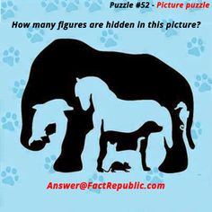 How many hidden figures are in this puzzle - Answer Picture Puzzles Brain Teasers, Brain Teasers Riddles, Brain Teasers With Answers, Brain Teaser Puzzles, Mind Games Puzzles, Maths Puzzles, Funny Puzzles, Puzzle Games, Puzzle Books