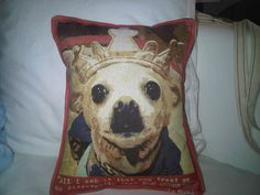 Gane Mio #Chihuahua #Pillows #Home #Decor #Interior #Design #VivirBonito Visíta nuestra página www.juliana.mx