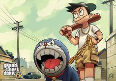 Grand Theft Doraemon