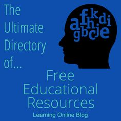 Find tons of free resources for teaching kids and teens in The Ultimate Directory of Free Educational Resources. Early Learning, Kids Learning, Learning Piano, Water Cycle For Kids, Solar System For Kids, Learn Sign Language, Online Blog, Educational Websites, Educational Activities
