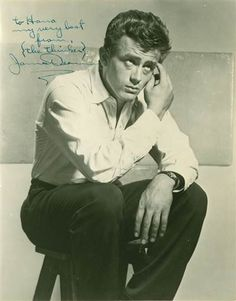 James Dean Signed Photograph for sale at Paul Fraser Collectibles #jamesdean #autographs #photography