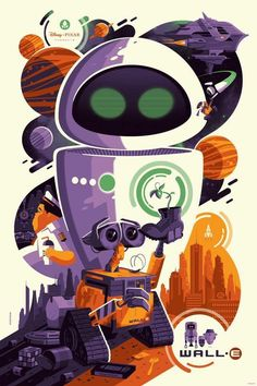 Wall-E - Tom Whalen ---- #MondoCon2016
