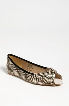 Topshop Hamper Woven Flat available at Nordstrom