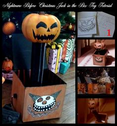 Diy nightmare before christmas halloween props nightmare before diy nightmare before christmas halloween props nightmare before christmas jack in the box scary toy solutioingenieria Choice Image