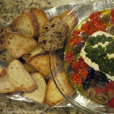 delicious appetizers with photos | goat cheese appetizer- delicious!