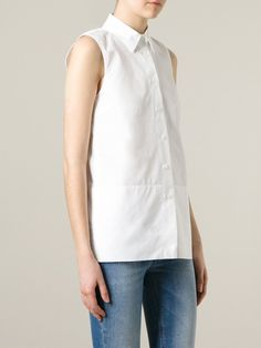 #victoriabeckham #shirts #denim #white #womens #fashion www.jofre.eu