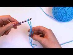 Left Hand Beginner Crochet: #4 How to Make a Crochet Slip Knot by Crochet Guru  series of youtube movies for lefties!