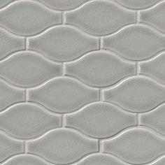 12x12 Highland Park Morning Fog Mosaic Tile