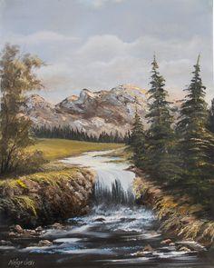 Katalin Nogradi~ c.c.c~ Mountain Stream