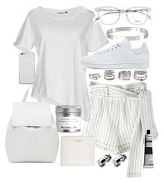 """Untitled #20296"" by florencia95 ❤ liked on Polyvore featuring Jamie Clawson, 3.1 Phillip Lim, ONLY, Yves Saint Laurent, Cartier, Mansur Gavriel, adidas Originals, Forever 21 and Aesop"