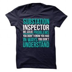 New Design for SUBSTATION INSPECTOR T Shirts, Hoodies. Check price ==► https://www.sunfrog.com/No-Category/New-Design-for-SUBSTATION-INSPECTOR.html?41382