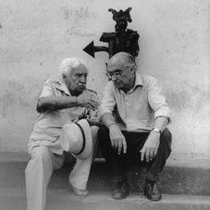 Brazilian writer : Amado, and   portuguese writer : Saramago ( Nobel Prize)
