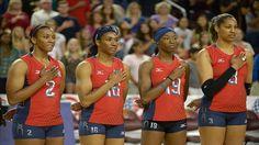 usa women's volleyball team - Google Search