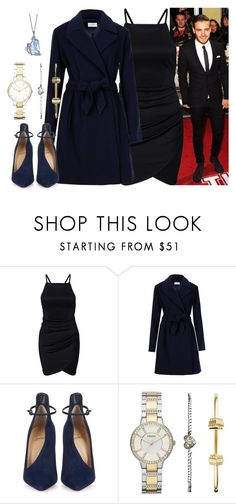 """""""Elegant party with Liam Payne"""" by rochuuviviann ❤ liked on Polyvore featuring мода, Payne, Christian Louboutin и FOSSIL"""