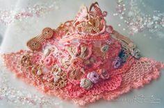 Crochet cuff bracelet Handmade cuff Beaded by KSZCrochetTreasures